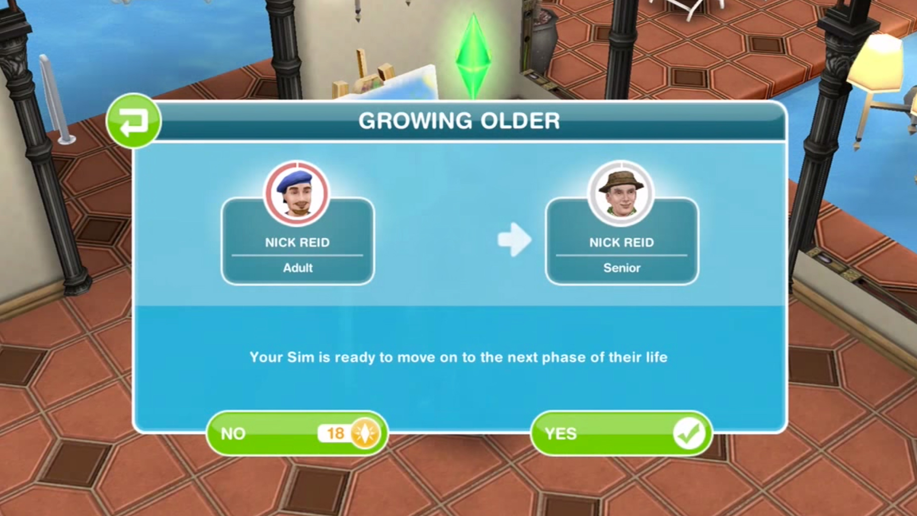 the sims freeplay stop dating